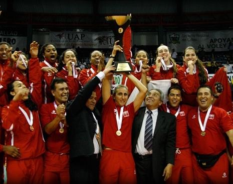 XVIII Campeonato Sudamericano de Menores de Vóley Copa UAP Perú 2012