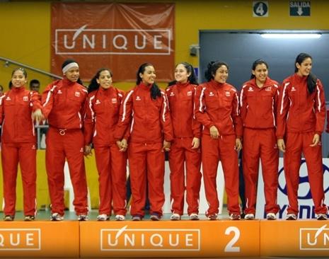 XXI Sudamericano Juvenil de Vóley Femenino Copa Unique 2012