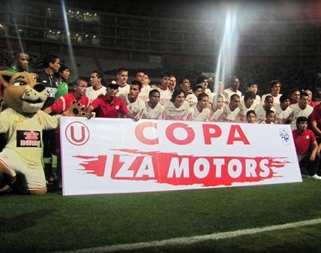 Presentación de Equipo Profesional Universitario de Deportes 2012